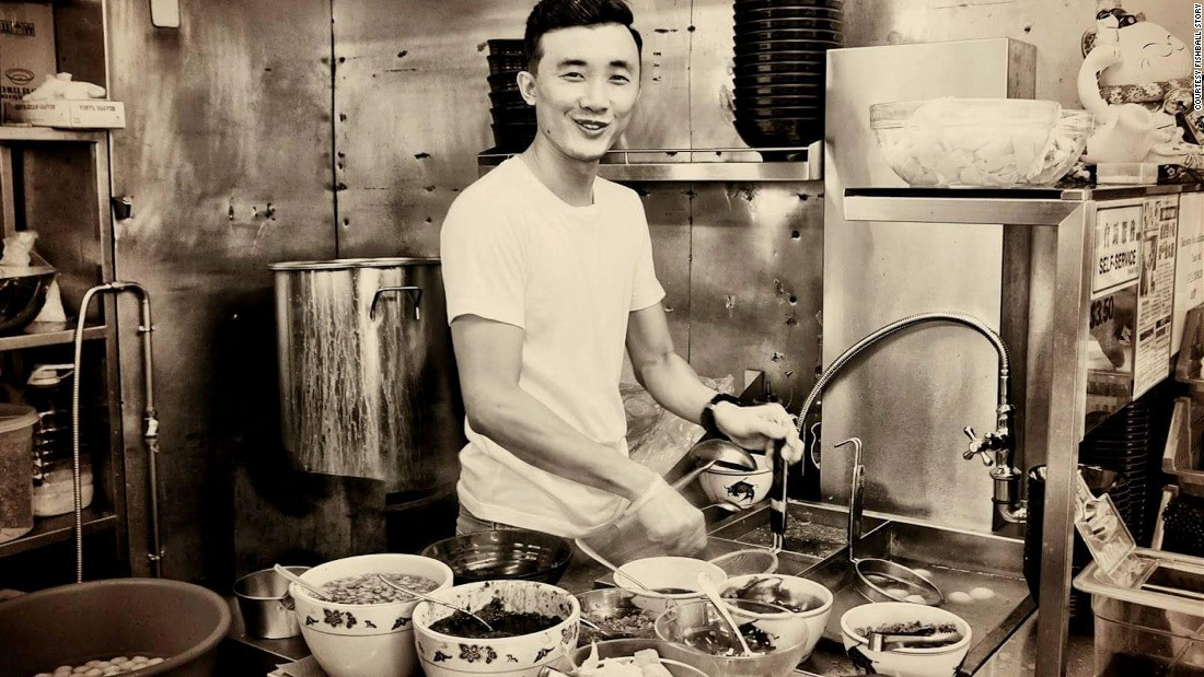 In fitting sepia-tone, Douglas Ng, 24, is one of a crop of culinary newcomers working to keep Singapore's traditional street snacks alive.