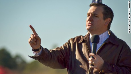 Republican presidential candidate Sen. Ted Cruz (R-TX) speaks to crowd during a campaign rally at Ottawa Farms December 19, 2015 in Bloomingdale, Georgia.