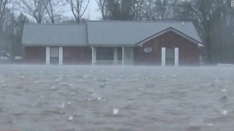 Storms bring double-digit rain totals to Southeast