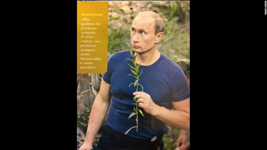 Vladimir Putin's 2016 calendar: Spend the year with Russia's president