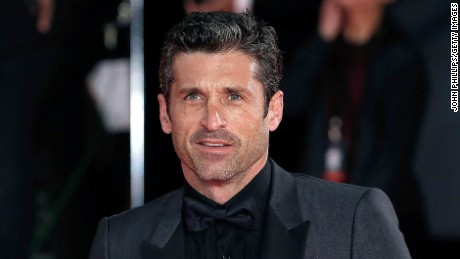 "Patrick Dempsey was one of the lead characters in ""Grey's Anatomy."""