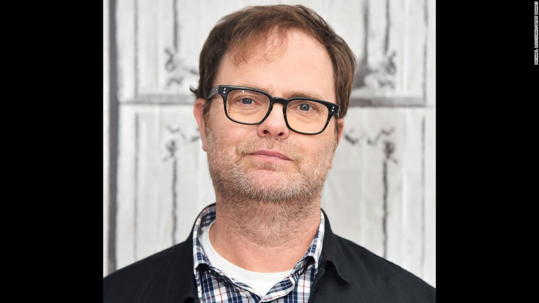 Funnyman Rainn Wilson turned 50 on January 20.