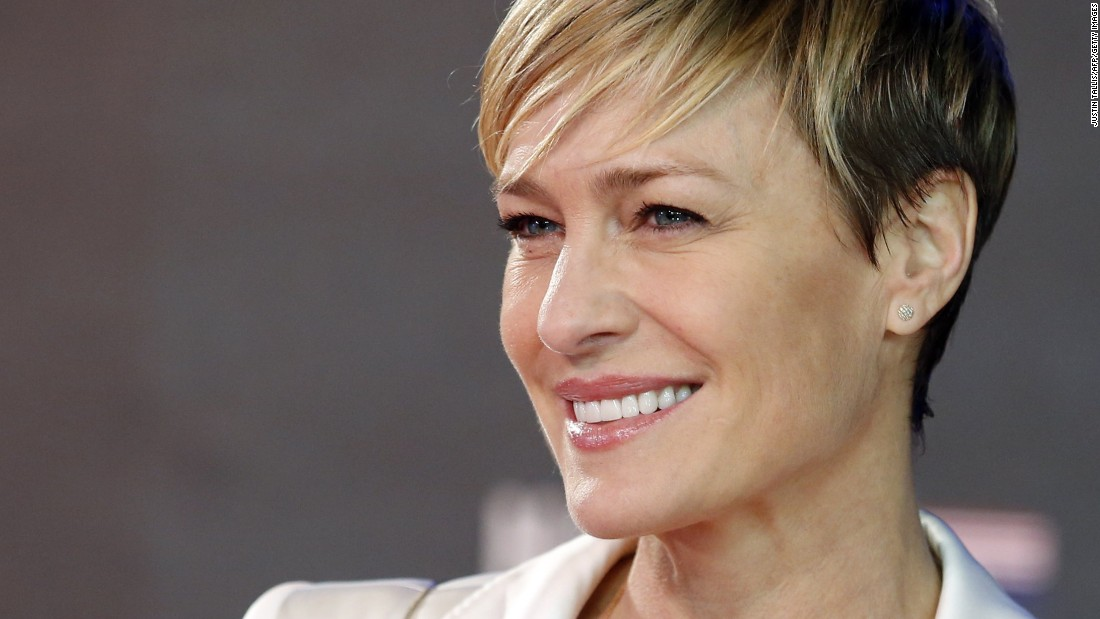 """House of Cards"" star Robin Wright turned 50 on April 8."