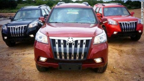 First ever 'Made in Ghana' cars are built to survive anything