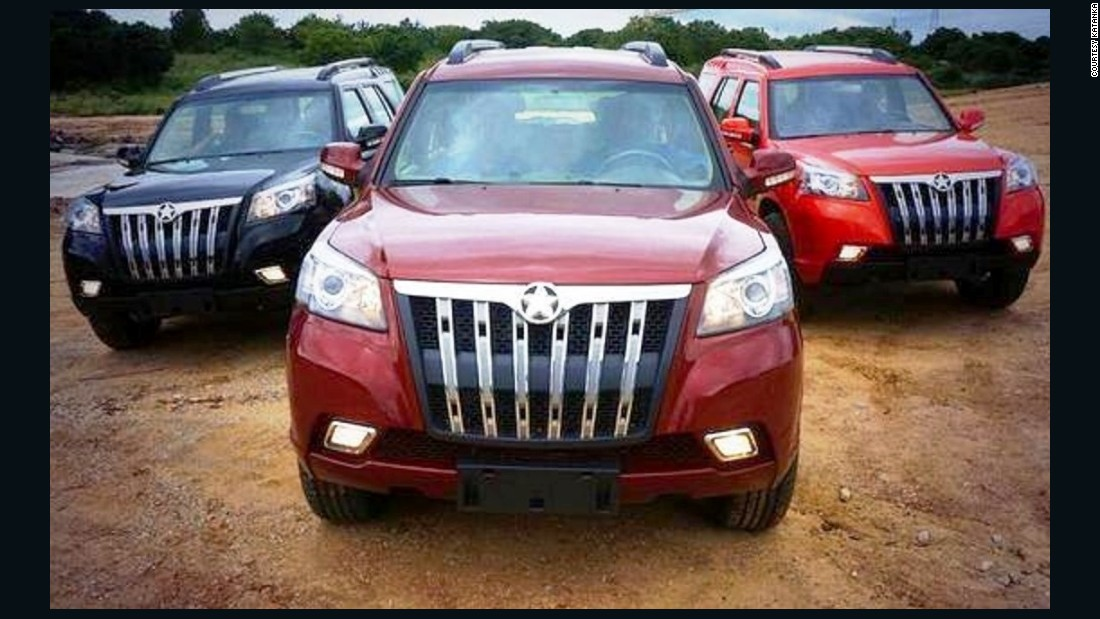 "The first ""made in Ghana"" cars have been modelled for tough local conditions, and the Ghanaian police conducted test drives on them.<br />"