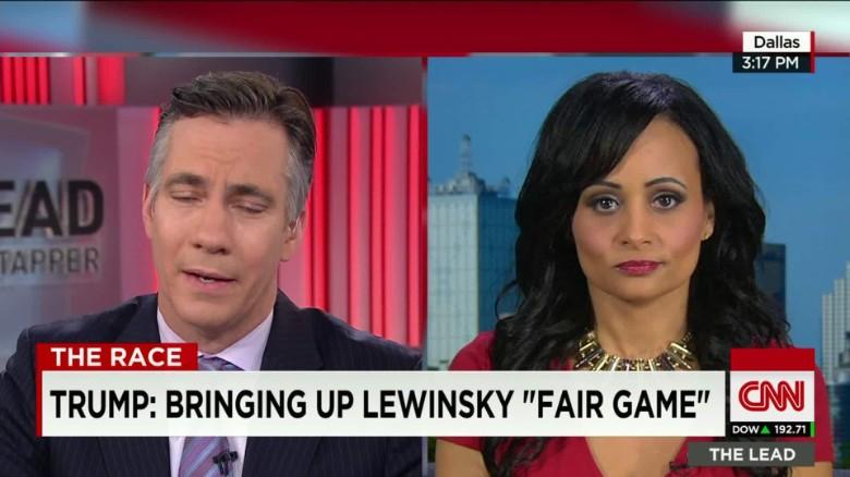 Trump: Bringing up Lewinsky 'fair game'