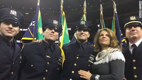 Three Brothers Graduate NYPD Academy in the same class, their father is a 30-year NYPD veteran