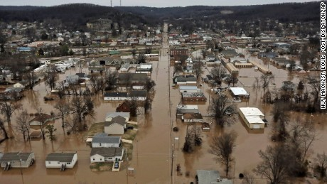 Widespread flooding in Missouri