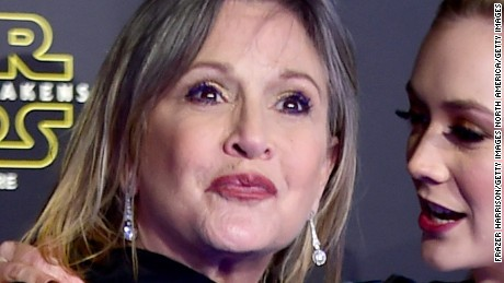 Carrie Fisher's aging gets judged; Harrison Ford's doesn't
