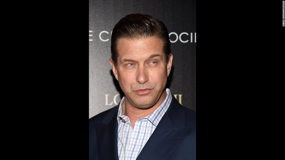 It's a Baldwin birthday! Stephen Baldwin is 50 on May 12.