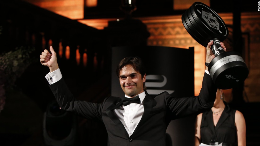 Going down in history as the first Formula E champion is Brazilian Nelson Piquet Jr. The former F1 racer -- son of a three-time F1 champion -- won the 2014/2015 title by a single point for the NEXTEV TCR team.