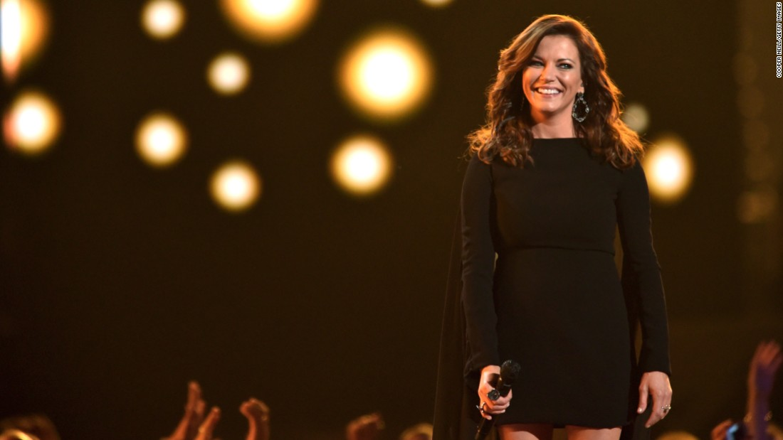 Wow! Country singer Martina McBride was 50 on July 29.