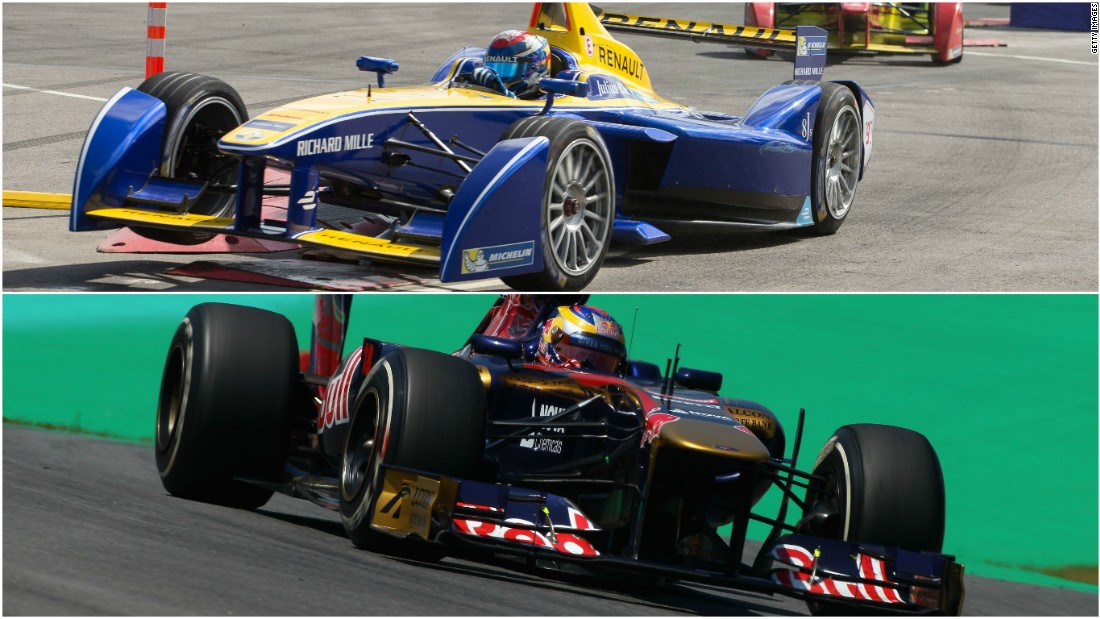 """People love to know what the differences are with an electric car but it does feel like driving a normal single-seater,"" Sebastien Buemi, one of eight former F1 drivers now racing in Formula E, tells CNN."