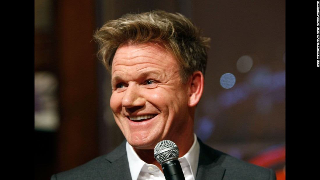 Chef Gordon Ramsay is sure to have a delicious day on November 8.