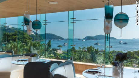 Restaurants at The Pulse, a new beach side venue in Hong Kong, boasts an unbeatable view.