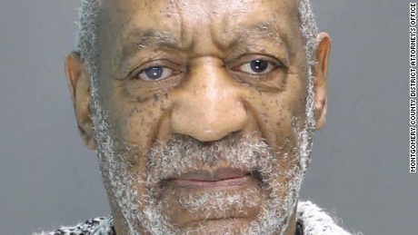 Cosby's mug shot from Wednesday's arraignment
