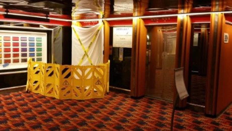 'Bloody elevator mystery' on Carnival Cruise ship