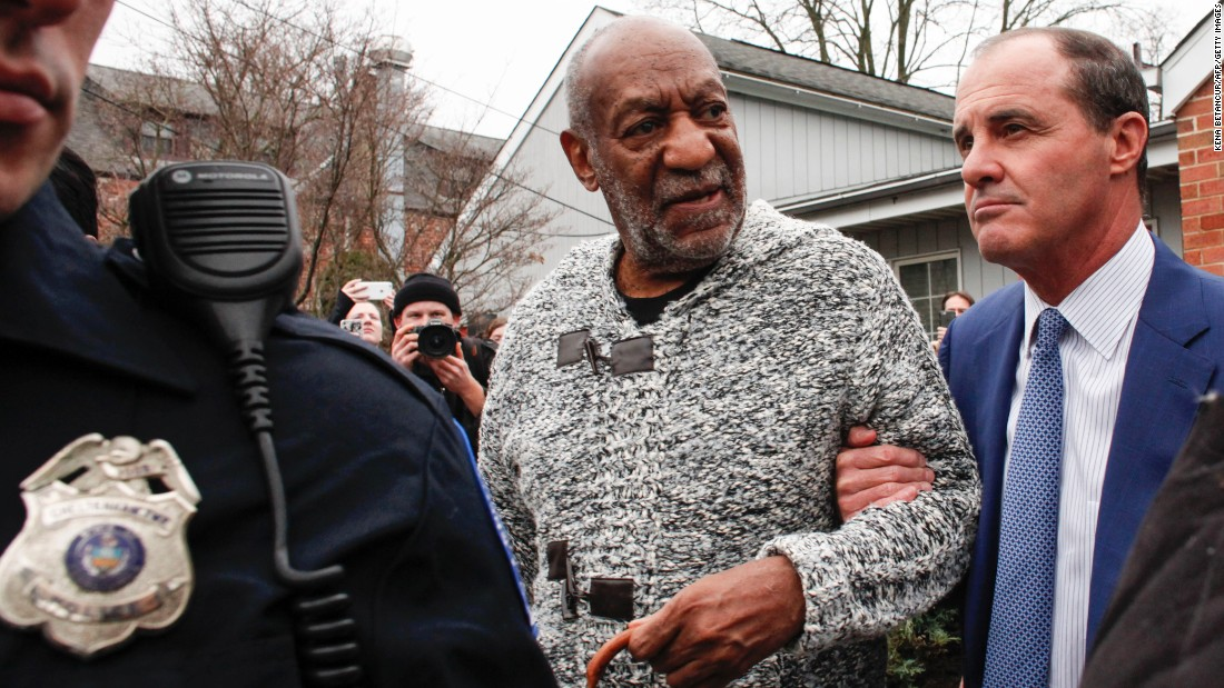 "Comedian Bill Cosby leaves a courthouse in Elkins Park, Pennsylvania, after he was <a href=""http://www.cnn.com/2015/12/30/us/bill-cosby-sexual-assault-investigation-pennsylvania/index.html"" target=""_blank"">arraigned on charges of sexual assault</a> on Wednesday, December 30. Cosby, whose legacy has been tarnished by <a href=""http://www.cnn.com/2014/12/13/showbiz/gallery/cosby-accusers/index.html"" target=""_blank"">multiple accusations</a> of sexual assault, faces three felony charges in a case connected to a 2004 accusation: A probable cause affidavit alleges that Cosby drugged and sexually assaulted former Temple University employee Andrea Constand when she visited his suburban Philadelphia home. Cosby's attorneys called the criminal case against him ""unjustified"" and vowed to fight it."