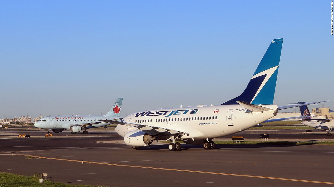 <strong>WestJet: </strong>One of the oldest airlines on this list, Canada's WestJet was launched in 1996. Based in Calgary, it offers destinations, some via code share, across Canada, America, the Caribbean, Ireland and the UK.