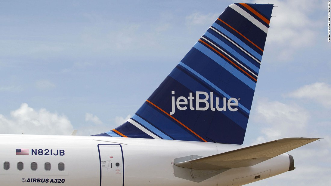 Now in its 16th year, JetBlue originally sold itself as being a cut above other no-frills airlines, by claiming to offer better in-flight entertainment perks. It operates out of New York's JFK airport and has a fleet of more than 210 aircraft.