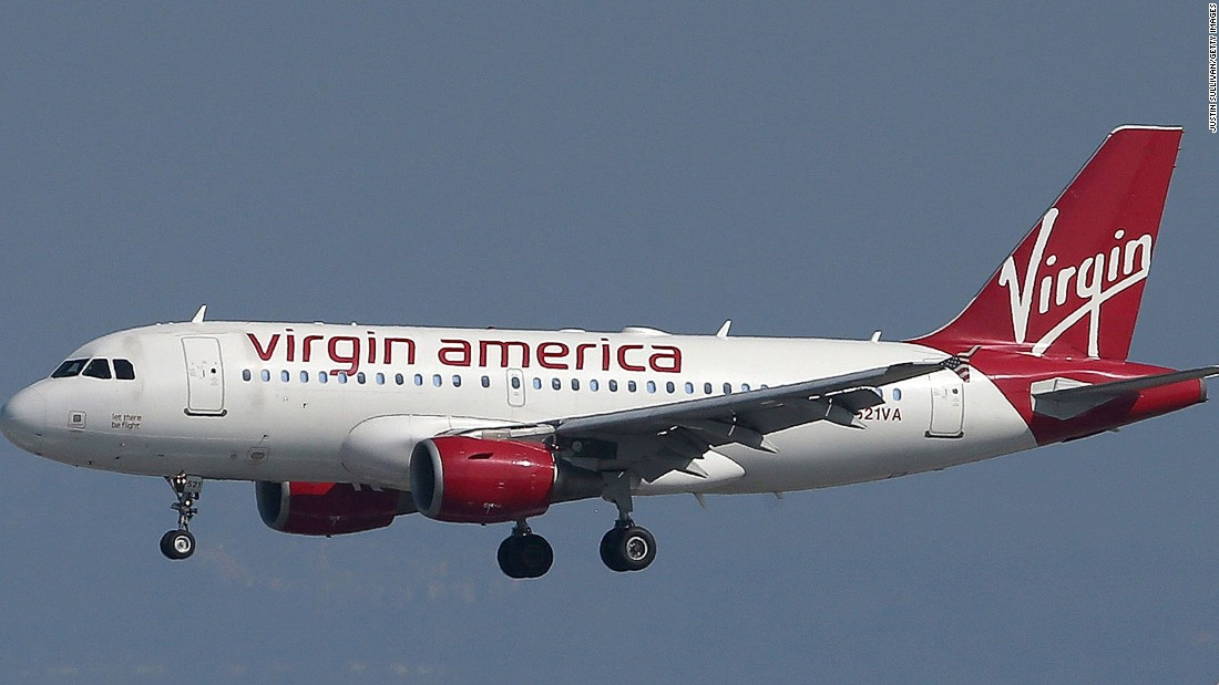 Serving 24 destinations with a fleet of 58 aircraft, Virgin America is part-owned by British entrepreneur Richard Branson's Virgin Group. It was founded in 2007 and is headquartered out of California.
