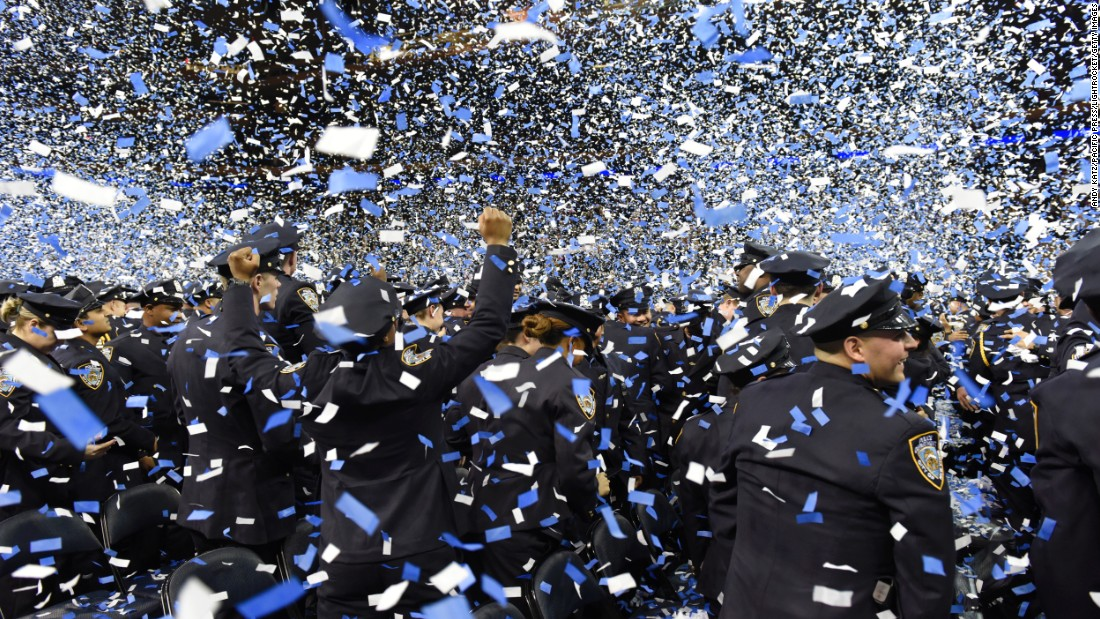 "Confetti fills New York's Madison Square Garden after a graduation ceremony ended for more than 1,200 new police officers on Tuesday, December 29. <a href=""http://www.cnn.com/2015/12/25/world/gallery/week-in-photos-1225/index.html"" target=""_blank"">See last week in 40 photos</a>"