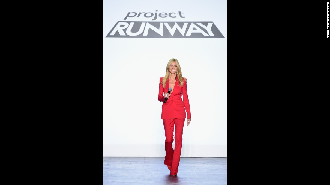 "As a model, Heidi Klum may have seemed as intimidating to the average guy as Tyra Banks, but as a host she's an encouraging friend on such programs as ""Project Runway"" and ""Germany's Next Top Model."""