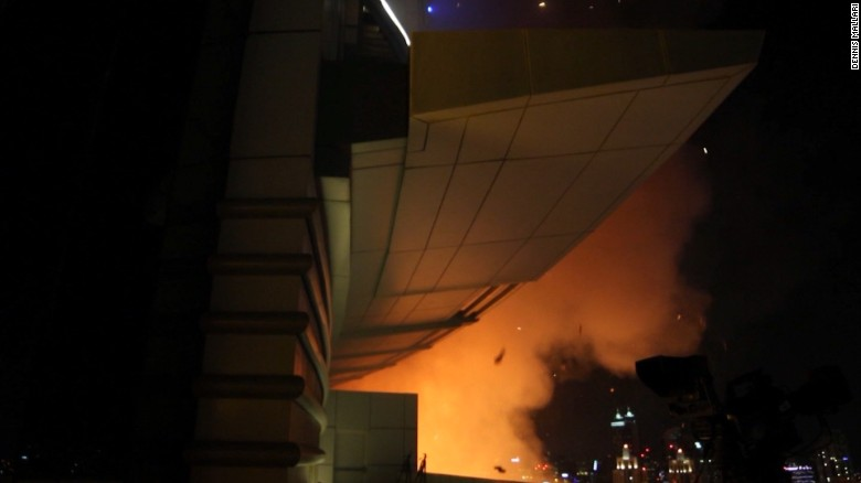 Escaping the Dubai hotel fire