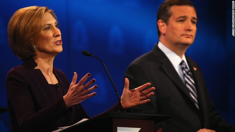 Cruz is vetting VP candidates, including Fiorina