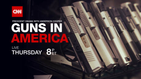 CNN to host Obama town hall on guns in America