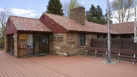 The Malheur National Wildlife Refuge headquarters building
