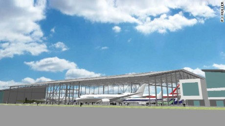 The Museum of Flight's new Aviation Pavilion is expected to open in late June.