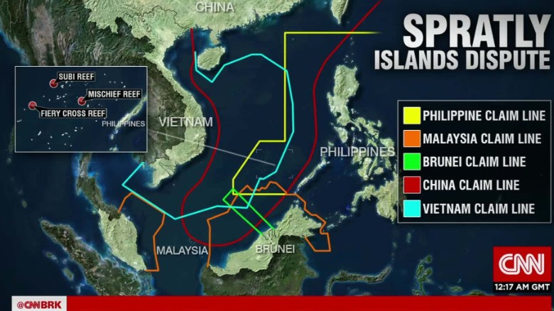 south china sea dispute Overlapping claims in the south china sea threaten to turn the region into a flashpoint of global concern.