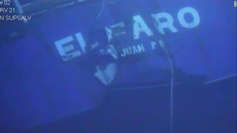 El Faro's final resting place
