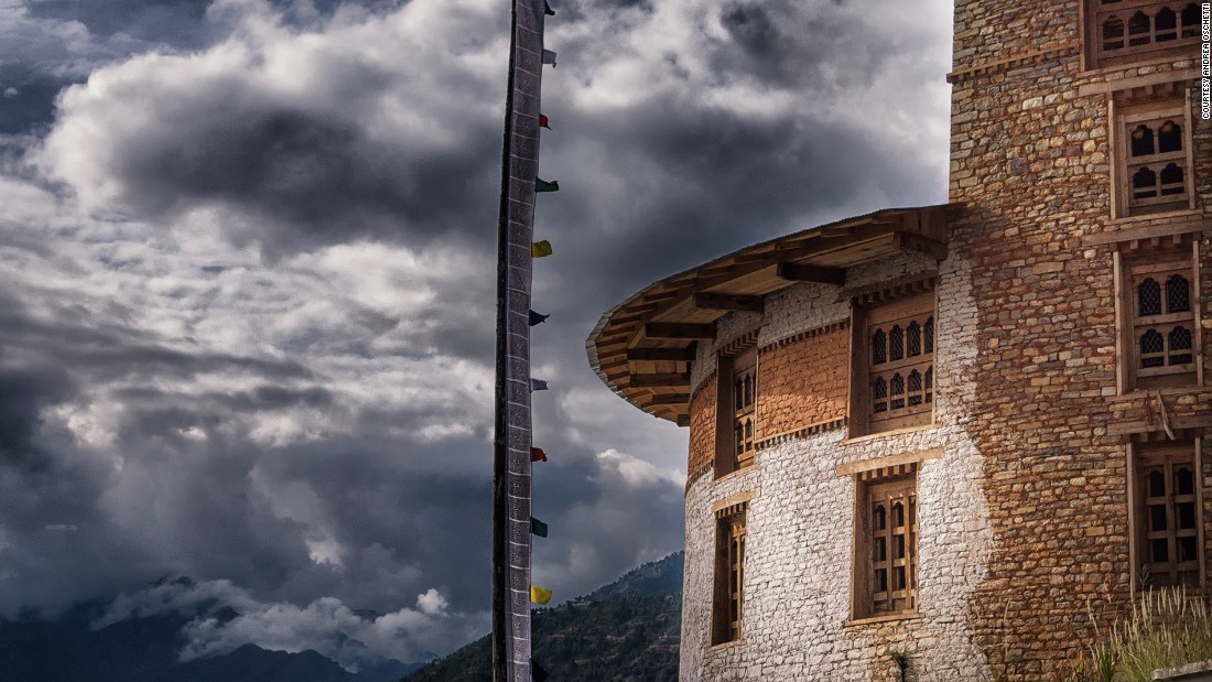 Dominating the Paro Valley, Paro Dzong fortress was built in the 1600s as a symbol of religious and political authority.