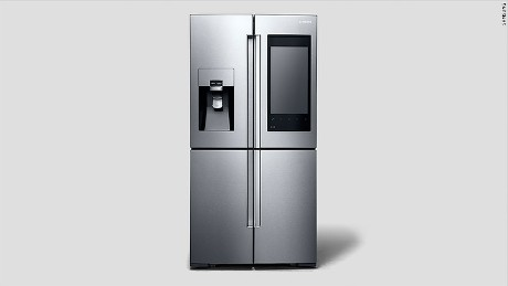 Samsung's Family Hub fridge will be available in the U.S. in spring 2016.