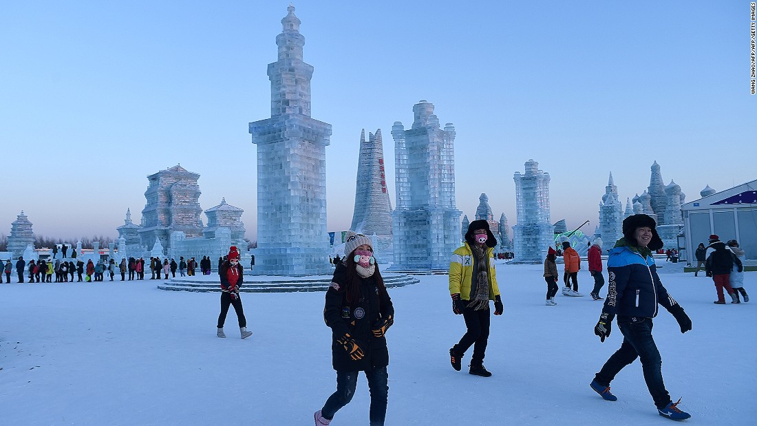 "Given it's known as China's ""Ice City,"" you'd better believe Harbin's winters bring a bite. Average January daytime temperatures range from minus 13 to minus 23 Celsius."
