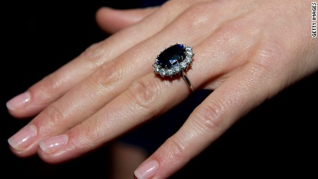 Kate Middleton's engagement ring increased worldwide sales and demand for sapphires.