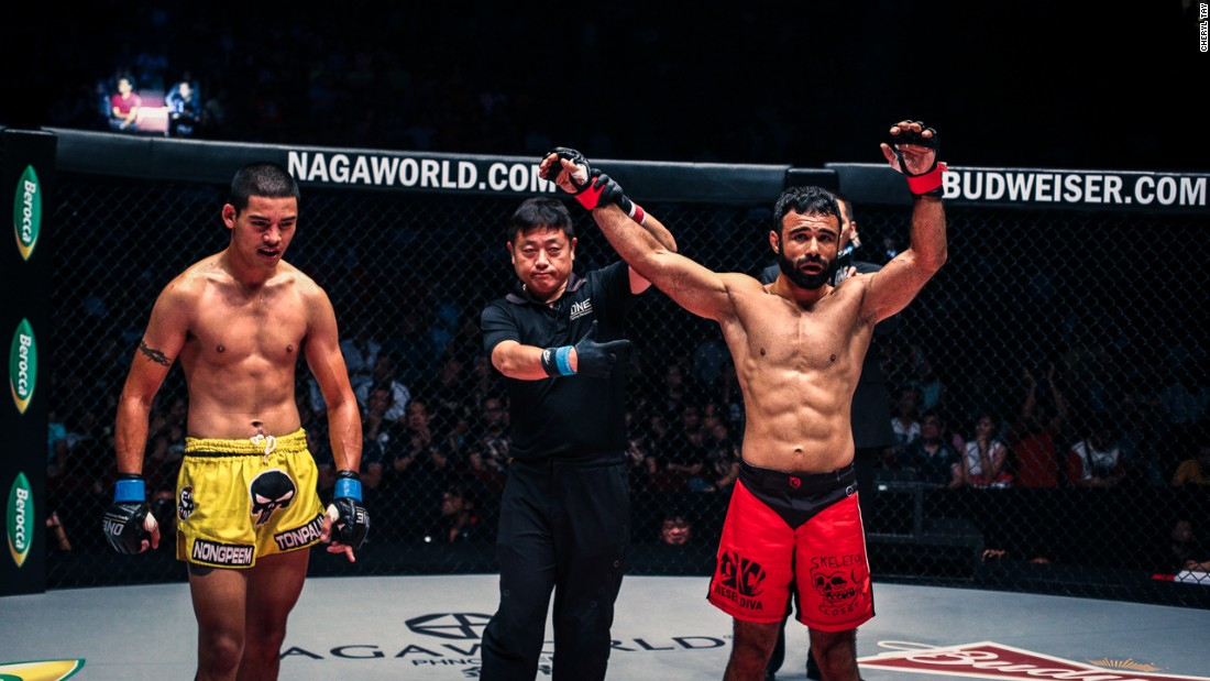 Ahmad's next fight will take place in Jakarta, Indonesia in February. He has won three of his past five fights and will have huge support once again.