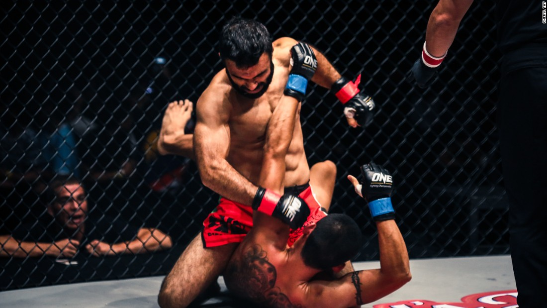 """Bashir Ahmad is known as the """"Godfather of MMA in Pakistan"""" after helping to establish the sport through his gym in Lahore."""