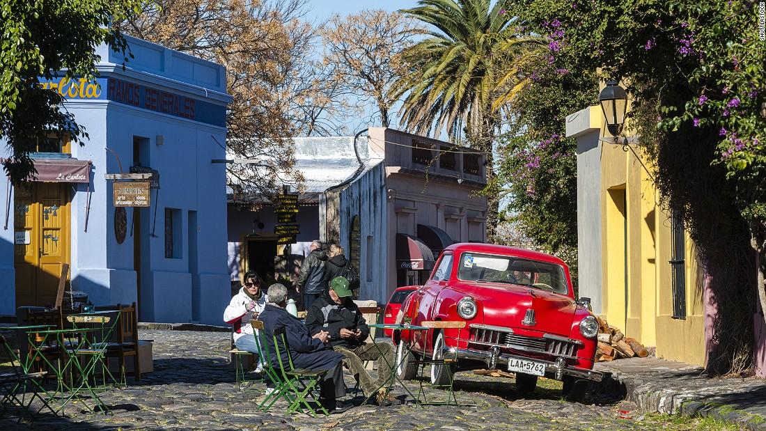 Colonia del Sacramento was Uruguay's first UNESCO World Heritage Site. It was founded in 1680 by the Portuguese on the Rio de la Plata.