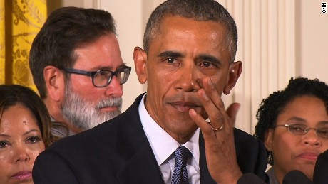 Why Obama cried over gun control