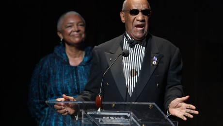 Bill Cosby with his wife Camille Cosby at the Apollo Theater 75th Anniversary Gala in June 2009.