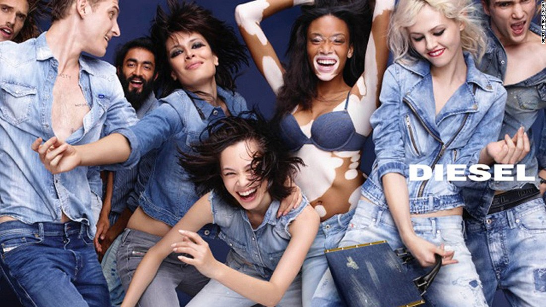 "Harlow and Knight have teamed up on several campaigns. She <a href=""http://edition.cnn.com/2016/01/06/fashion/winnie-harlow-interview-model-qa/"">considers</a> her experience working with Knight as her first gig as a 'real' model."