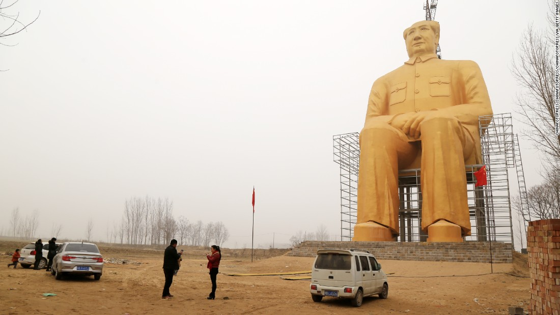 "<a href=""http://edition.cnn.com/2012/11/06/world/asia/china-mao-legacy-grant/"">Chairman Mao's</a> picture holds pride of place in many houses in villages across China. To these people he remains a symbol of strength, a man born a peasant -- albeit a somewhat comfortable one -- who rose to lead and unite a warring country."