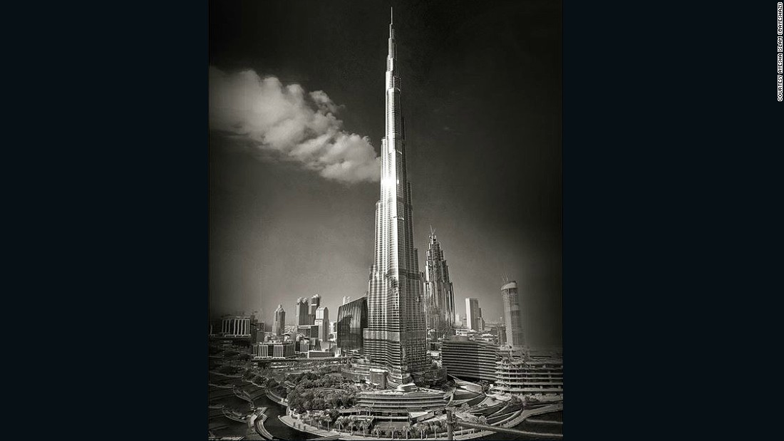 "Ayesha Islam (<a href=""https://www.instagram.com/ayeshazi/"" target=""_blank"">@ayeshazi</a>) shared this image of the world's tallest building, the Burj Khalifa in Dubai, which she believes emphasizes the emirate's rapid transition from desert outpost to global hub."