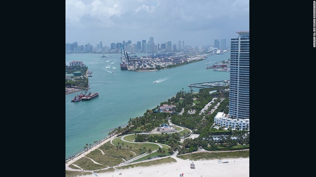 "Dr. Ken Wilcox (<a href=""https://www.instagram.com/drthorthor/"" target=""_blank"">@DrThorThor</a>) says this image of Miami, Florida, shows how the city has maintained its natural beauty as it has grown in recent years."