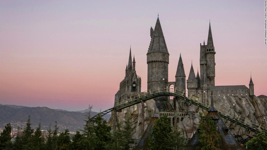 Universal Studios Hollywood is sure to be a crowd-pleaser when the Wizarding World of Harry Potter opens there on April 7. Flight of the Hippogriff is the park's first outdoor roller coaster.