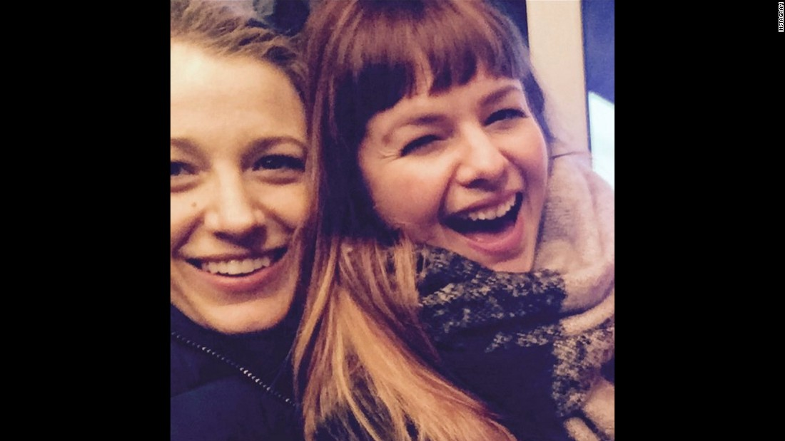 "Actresses Blake Lively, left, and Amber Tamblyn reunite for a selfie on Monday, January 4. The two starred together in ""Sisterhood of the Traveling Pants."" ""WHERE are my hands?!?"" <a href=""https://www.instagram.com/p/BAIj-XUR4CQ/?taken-by=blakelively"" target=""_blank"">Lively joked on Instagram.</a>"