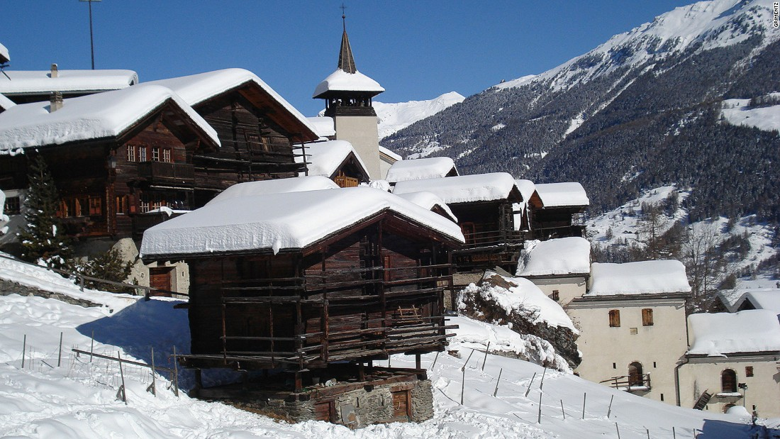The small Valais village of Grimentz is chocolate-box perfect, with its old-school chalets and unspoiled valley. It sits in the Val d'Anniviers, a side shoot of the great Rhone Valley.